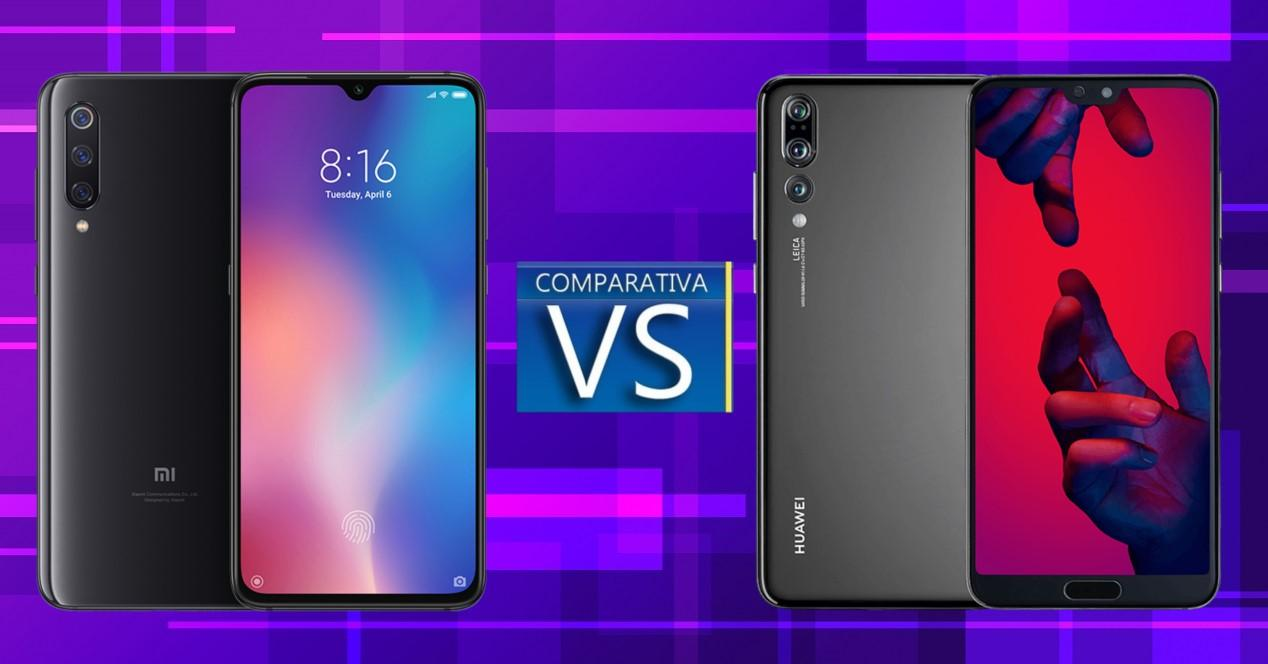 Xiaomi Mi 9 vs Huawei P20 Pro