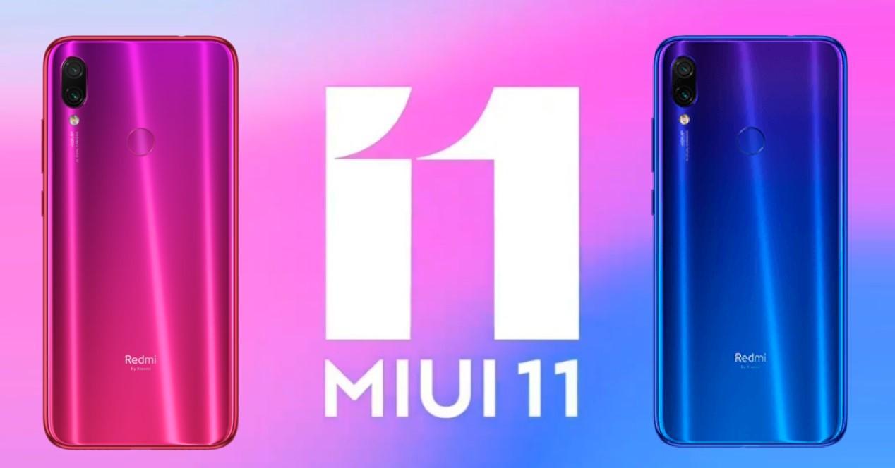 Xiaomi Redmi Note 7 miui 11