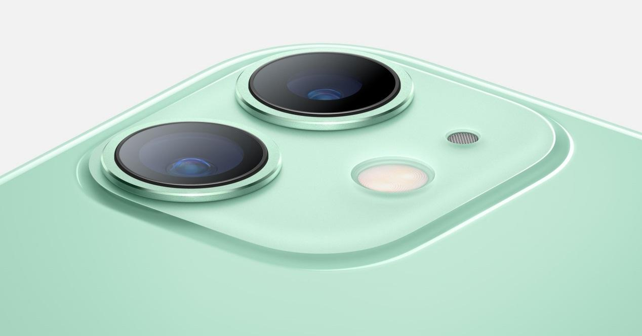 iPhone 11 verde cámaras