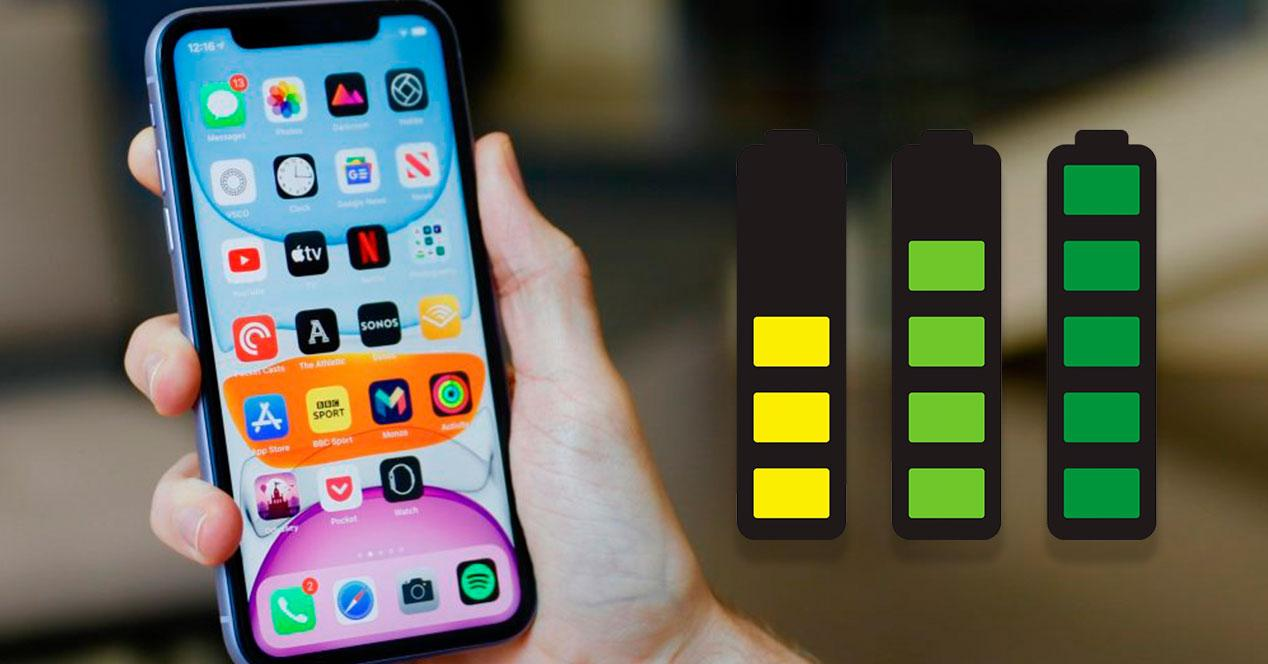 iPhone 11 batería