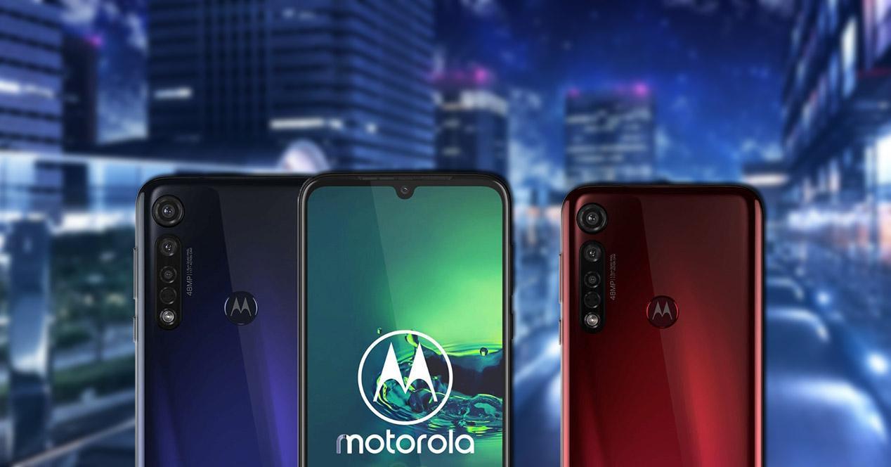 Frontal y trasera Moto G8 Plus
