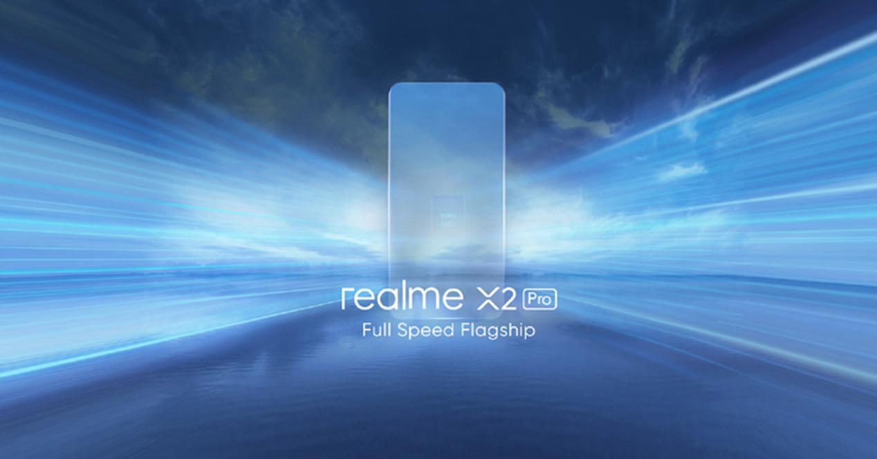 Cartel presentación Realme X2 Pro