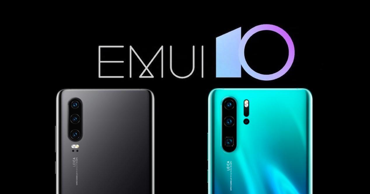 EMUI 10 Huawei P30 y P30 Pro
