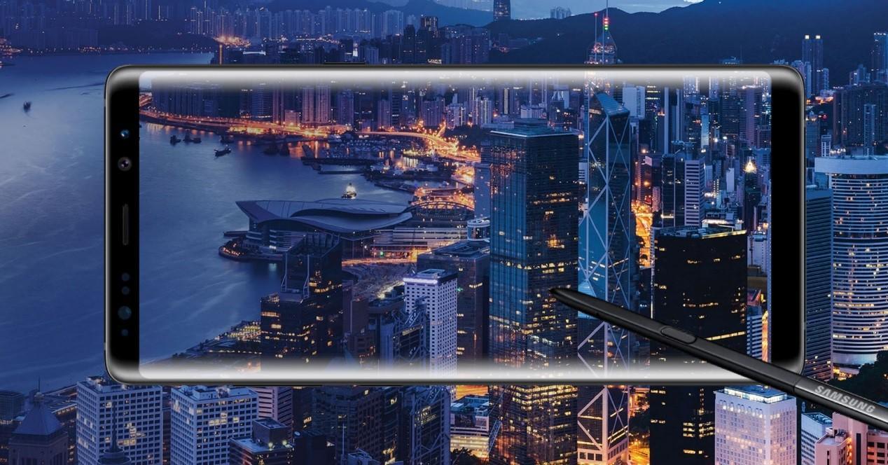 Galaxy Note 8 hong kong