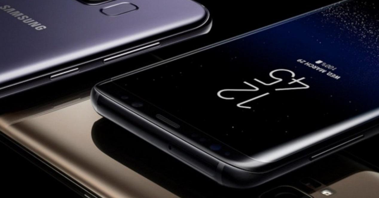 Galaxy S8 toma cercana