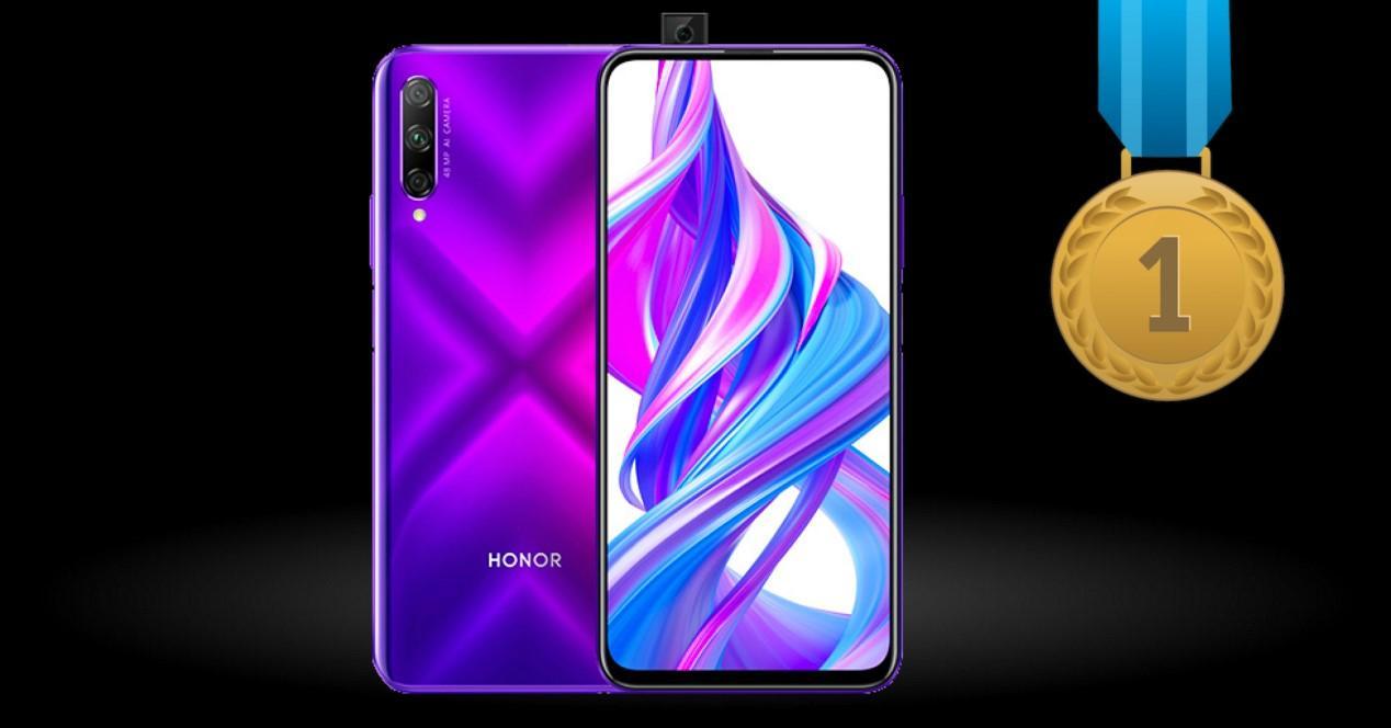 Honor 9X Pro primer puesto