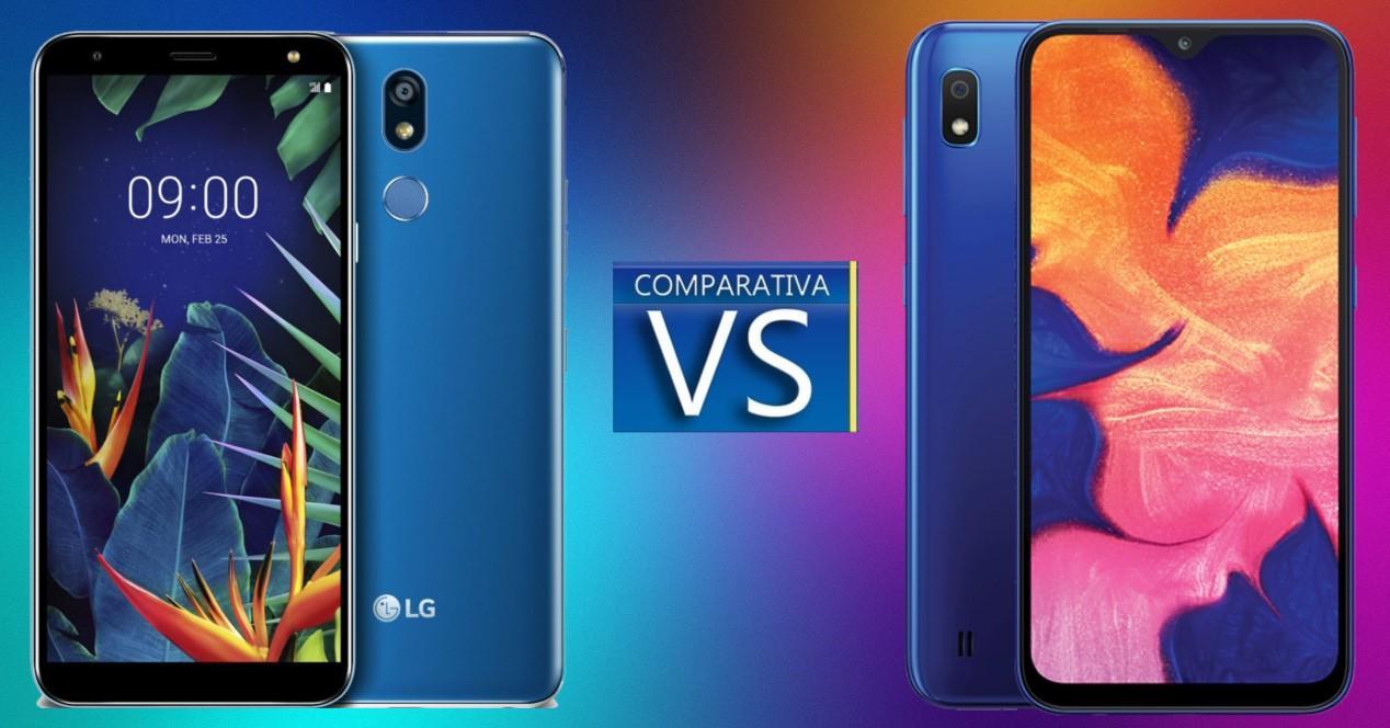 LG K40 vs Galaxy S10