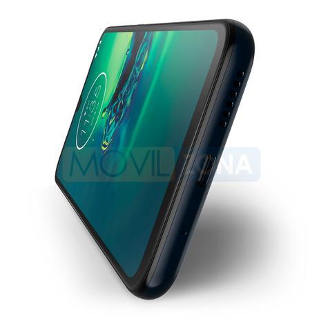 Motorola Moto G8 Plus lateral