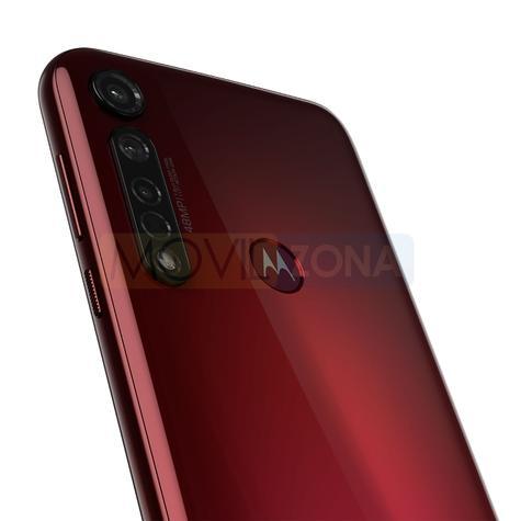 Motorola Moto G8 Plus rojo cámaras