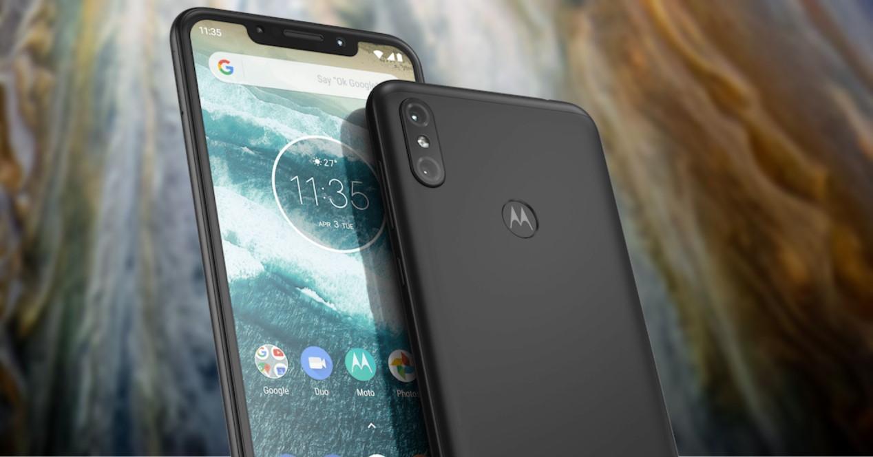 Motorola One Power fondo jupiter