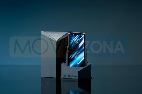 Motorola Razr 2019 embalaje caja packaging