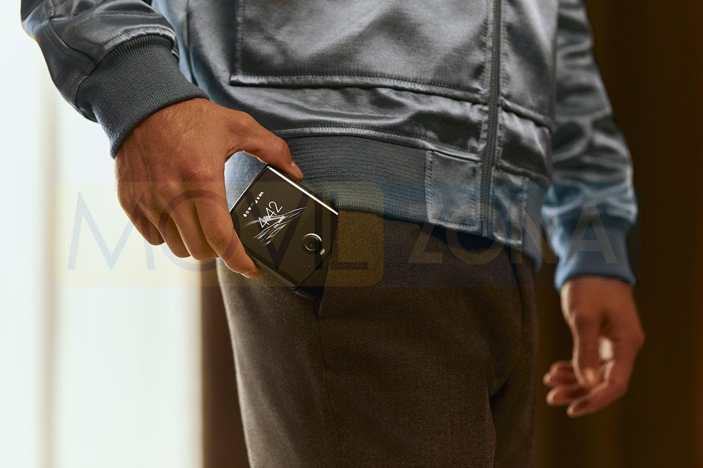Motorola Razr 2019 bolsillo