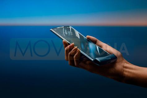 Motorola Razr 2019 pantalla abierta