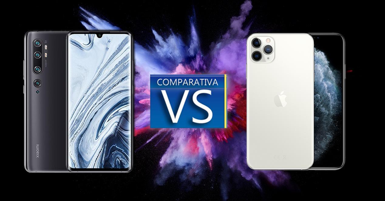 Xiaomi Mi Note 10 vs iPhone 11 Pro