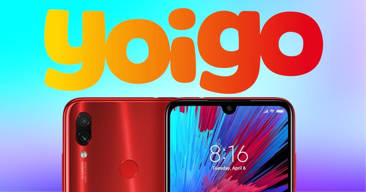 Xiaomi Redmi 7 con yoigo