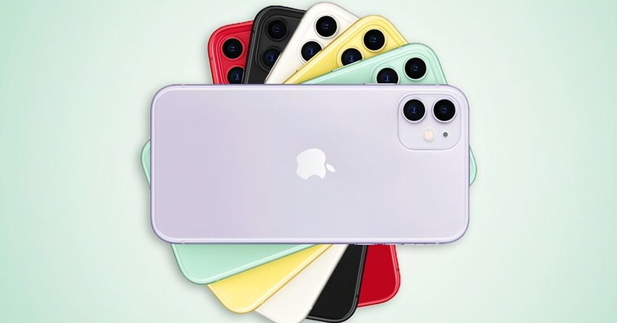 iPhone 11 todos los colores