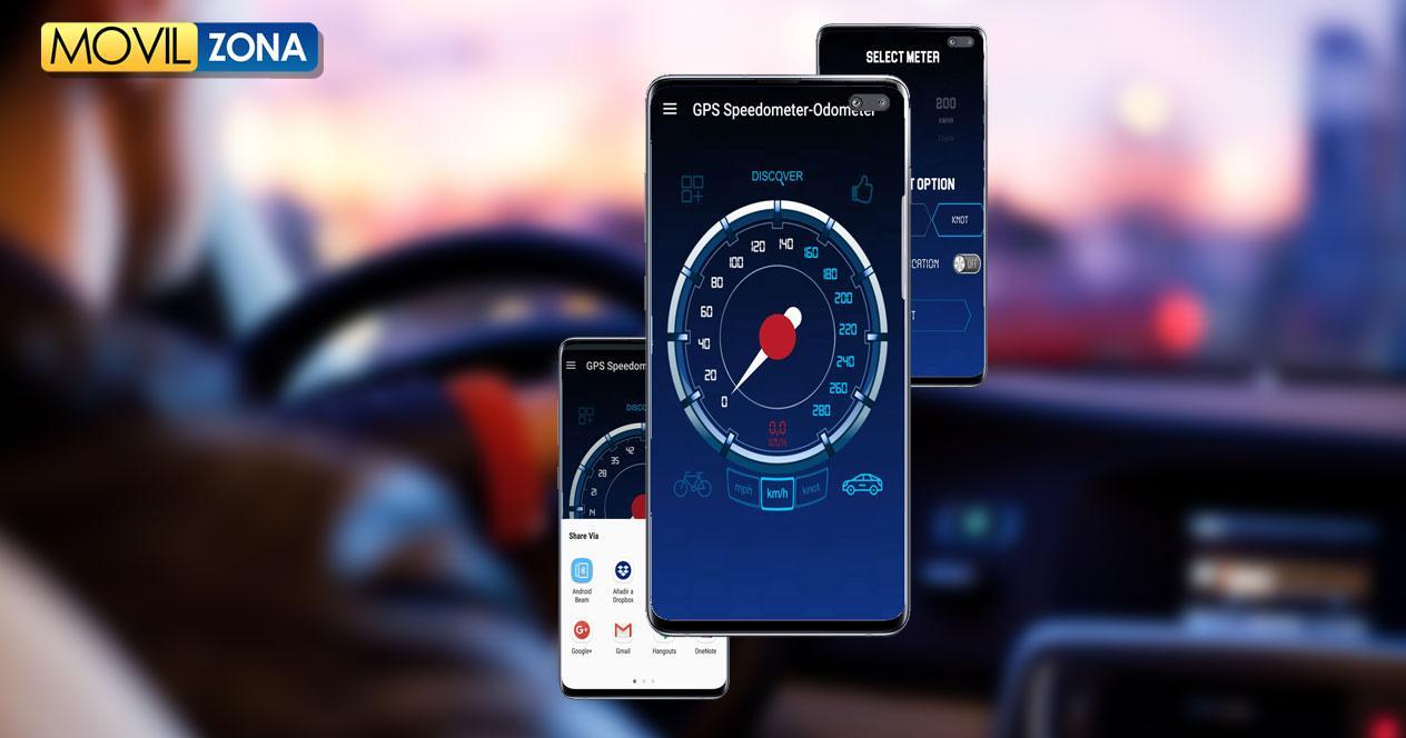Aplicación Odometer - GPS Speedometer