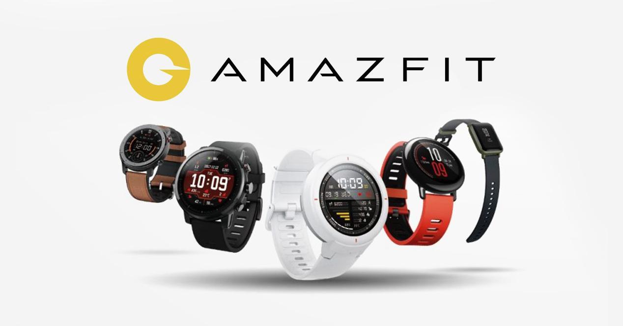 Comparativa relojes Amazfit