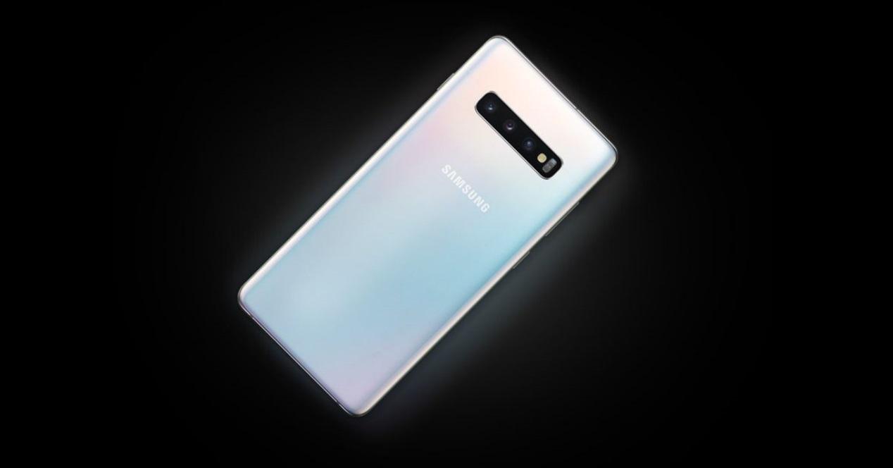 Galaxy S10 Plus blanco brillante