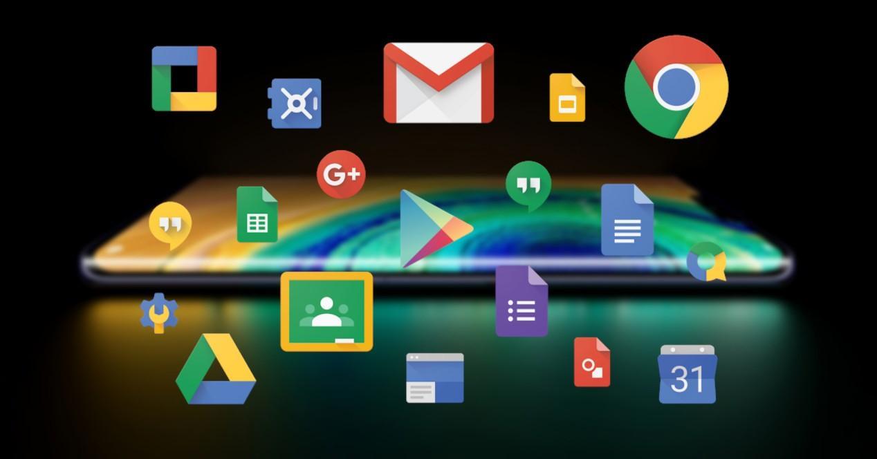 Huawei Mate 30 Pro apps de Google