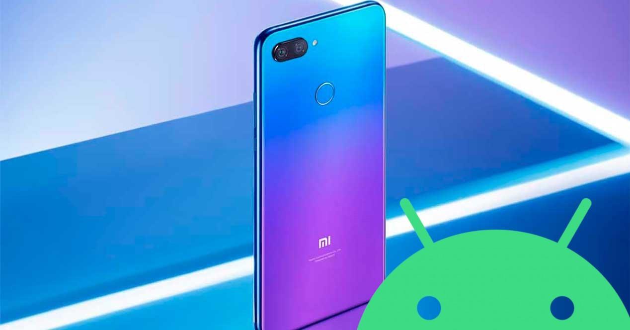 Mi 8 Lite android 10
