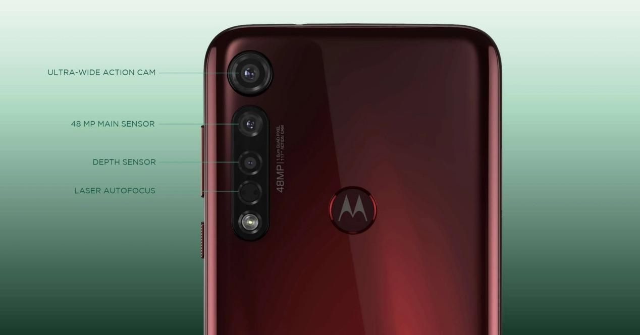 Moto G8 Plus Camaras