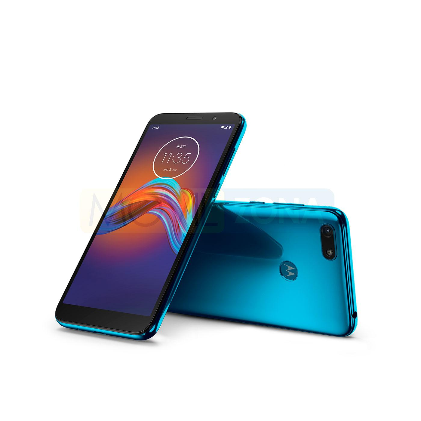 Motorola Moto E6 Play frontal y trasera