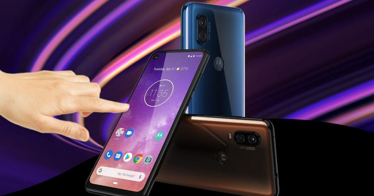 Motorola One Vision tocar tactil