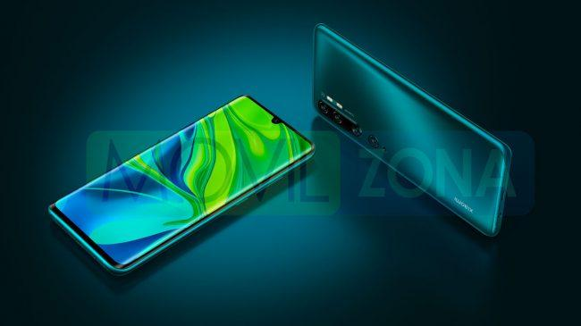 Xiaomi Mi Note 10 Pro diseño