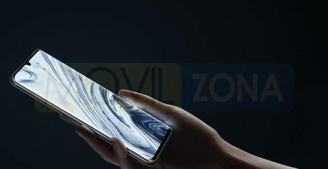 Xiaomi Mi Note 10 Pro pantalla