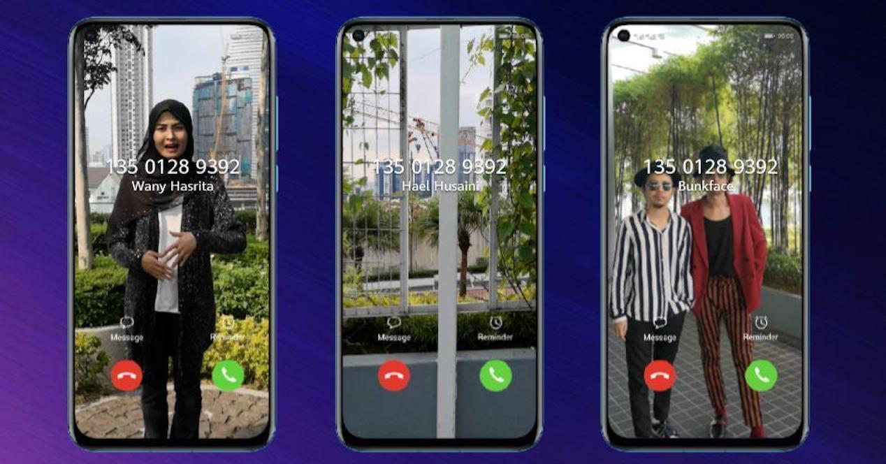 video como tono de llamada