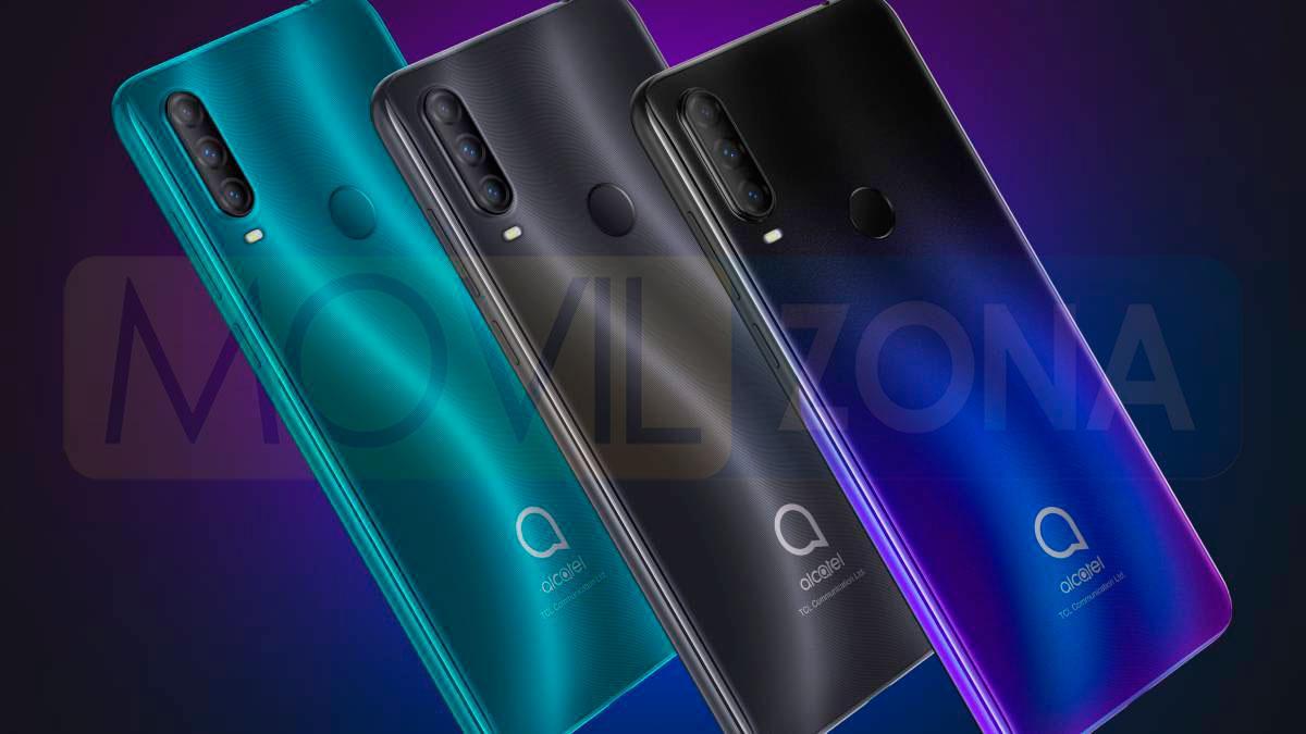 Alcatel 1S 2020 colores
