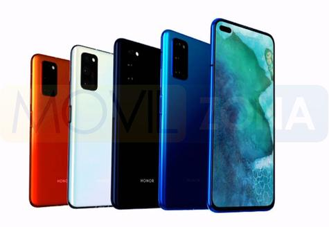 HONOR View 30 Pro colores