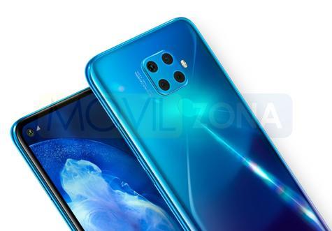 Huawei Nova 5Z azul