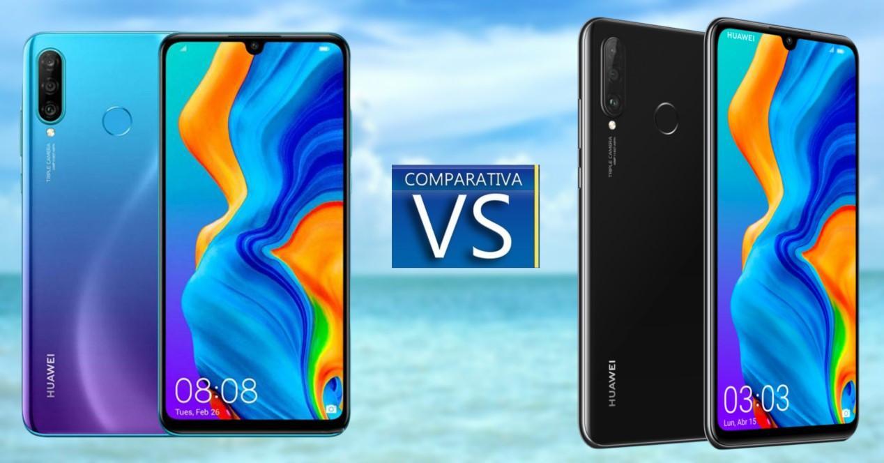 Huawei P30 Lite vs P30 Lite New Edition