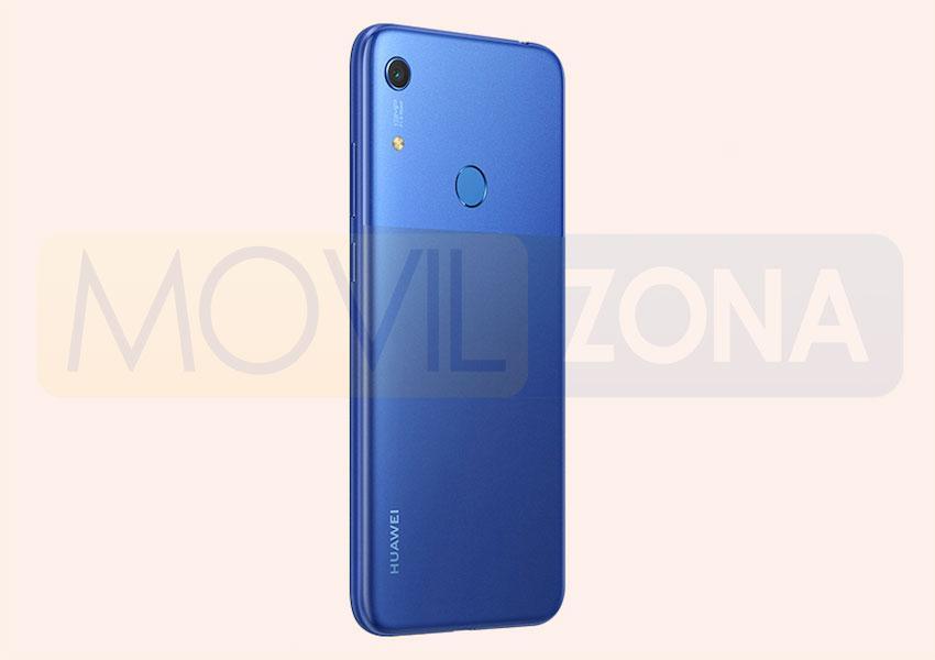 Huawei Y6s trasera azul