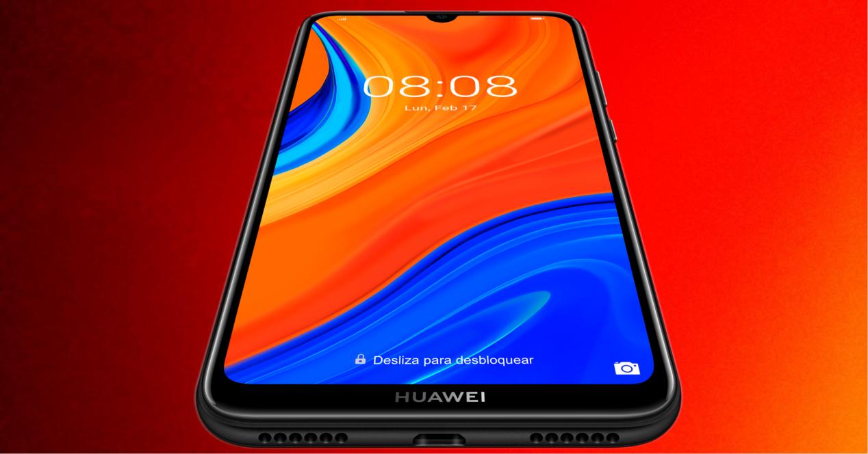 Huawei Y6s tumbado