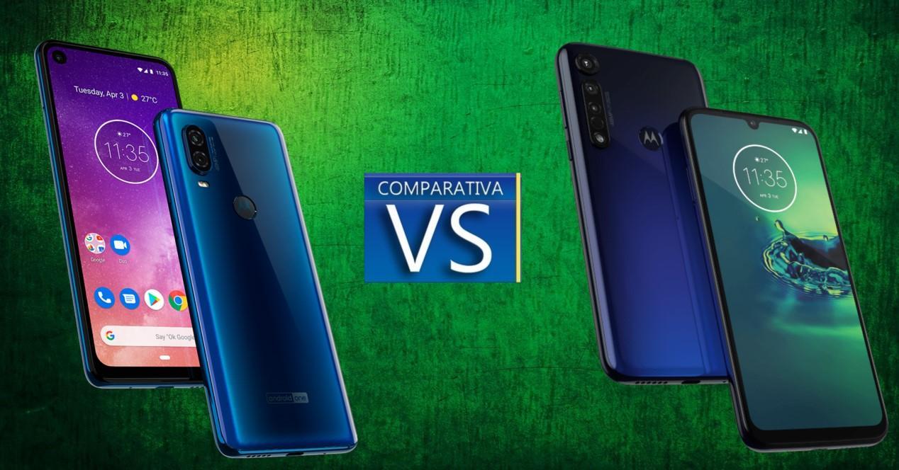 Motorola One Vision vs Motorola G8 Plus