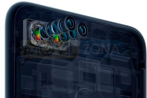 Oppo F9 doble cámara lentes