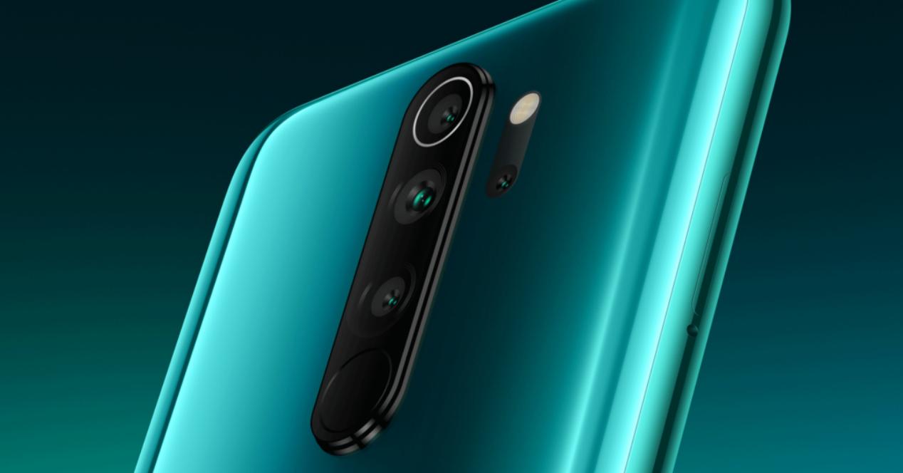 Redmi Note 8 Pro camaras traseras