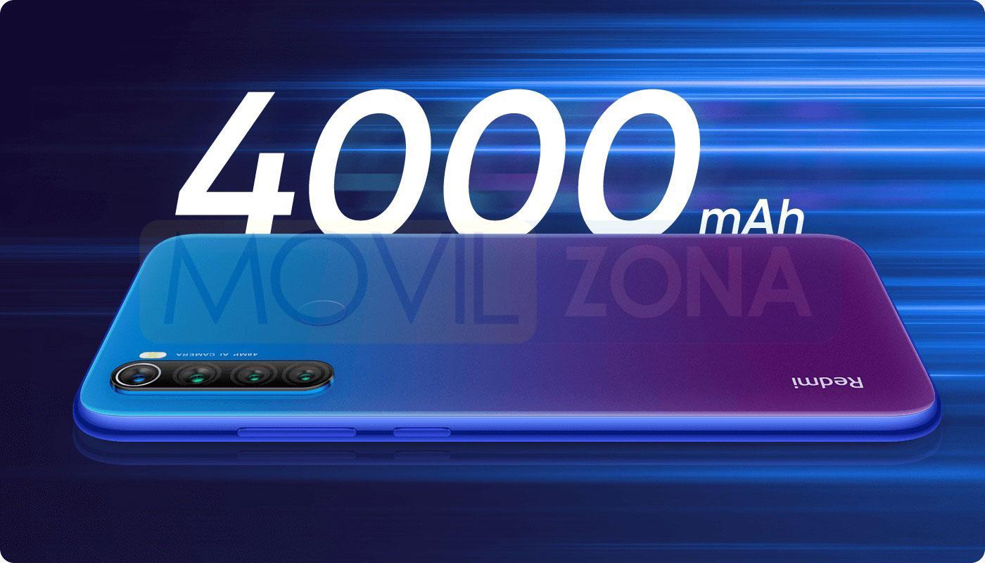 Redmi Note 8T batería
