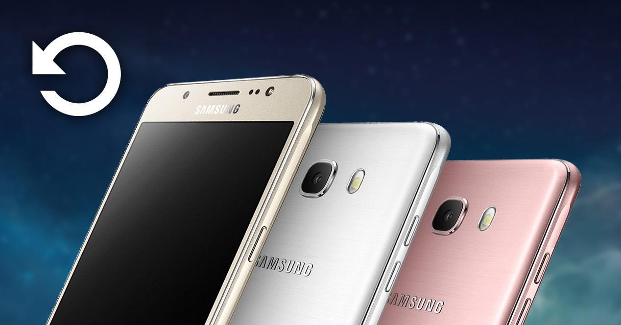 Restaurar Samsung Galaxy J5