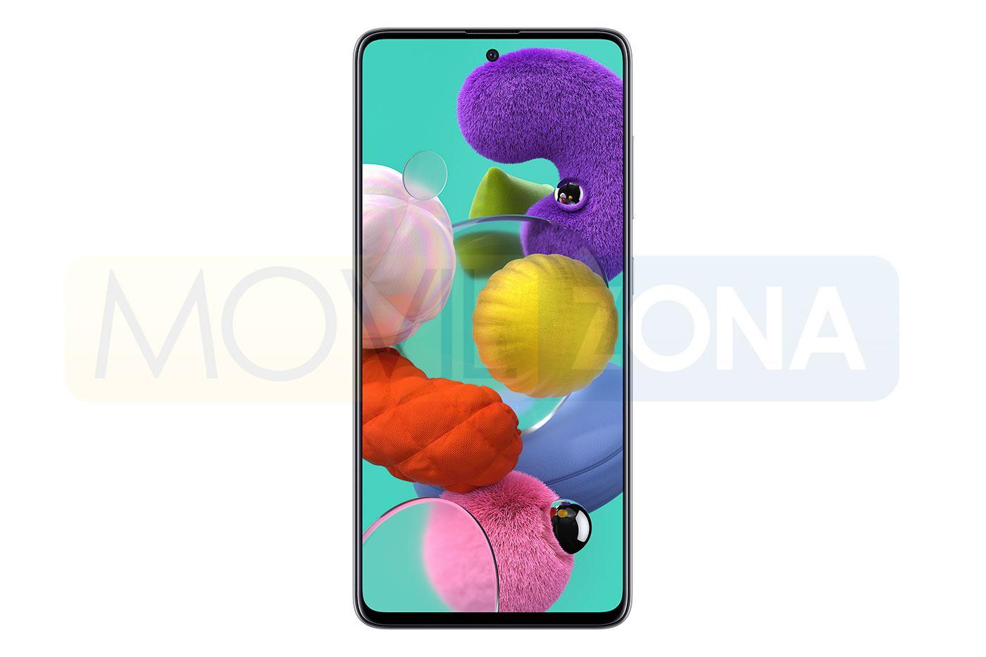 Samsung Galaxy A51 frontal