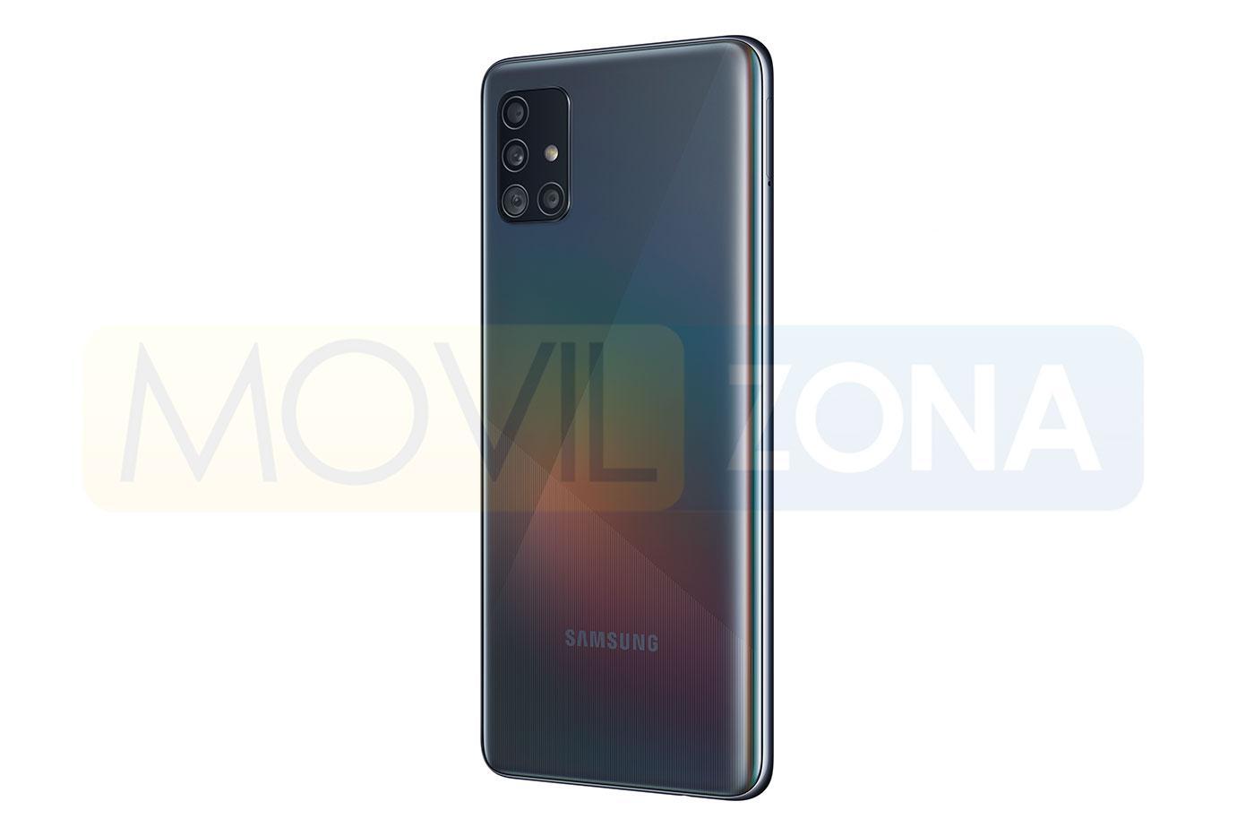 Samsung Galaxy A51 negro