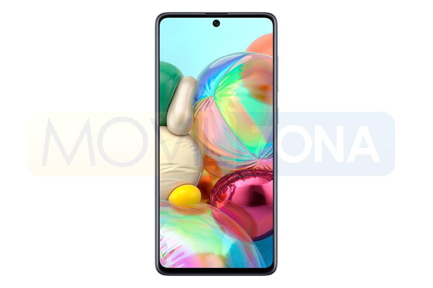 Samsung Galaxy A71 frontal