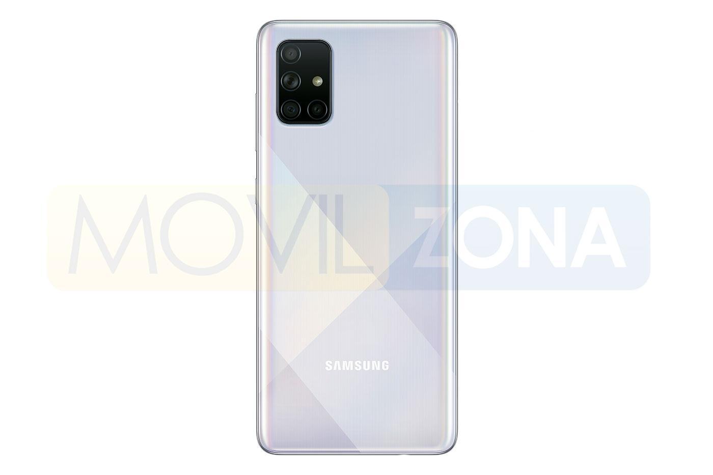 Samsung Galaxy A71 gris