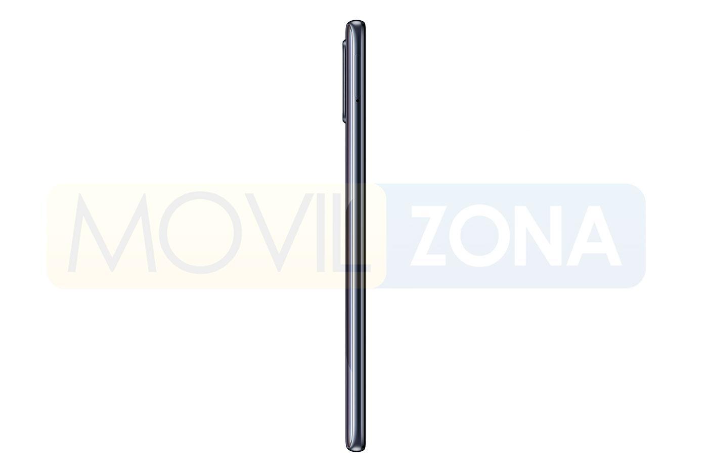 Samsung Galaxy A71 lateral
