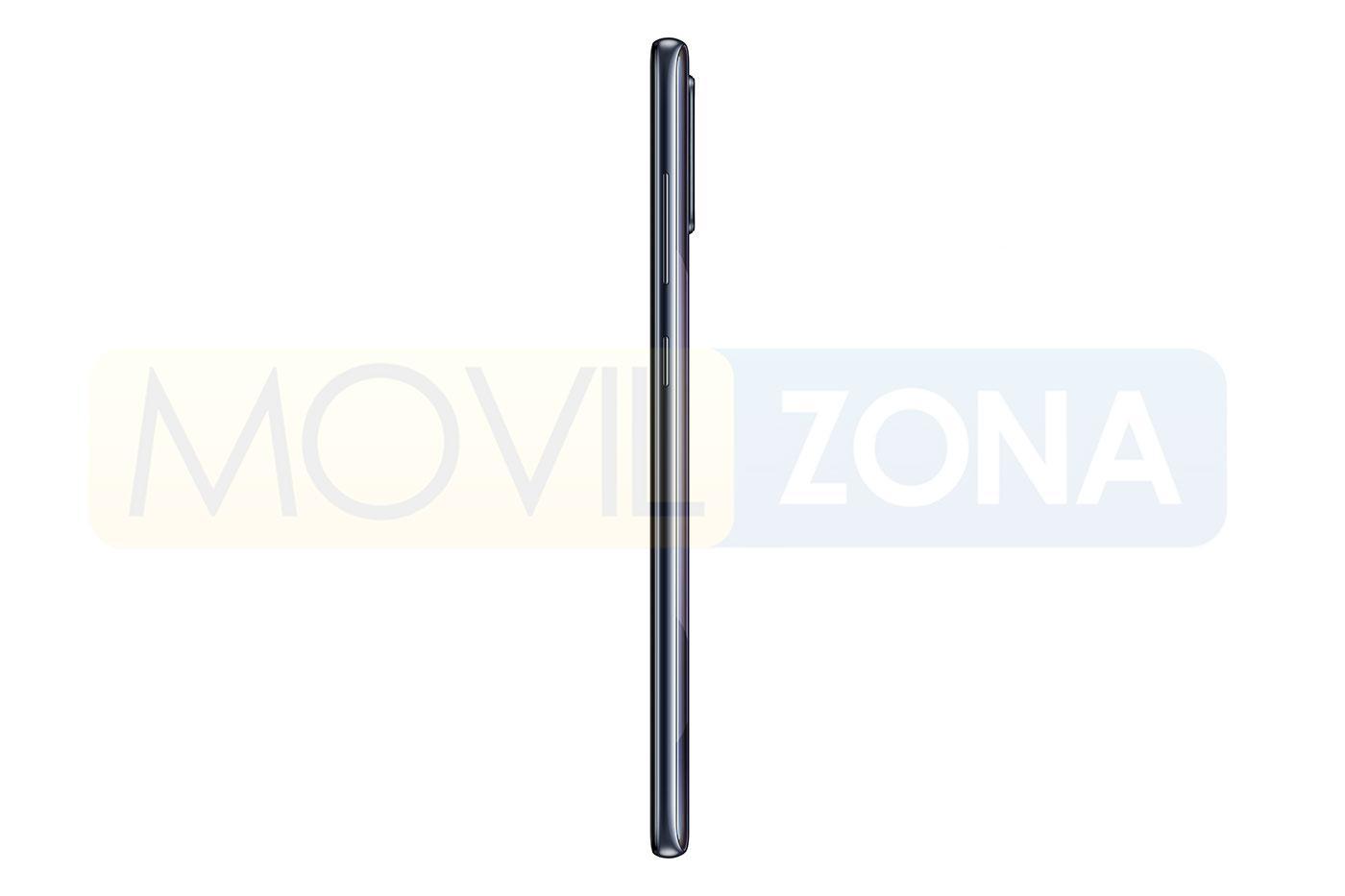 Samsung Galaxy A71 perfil