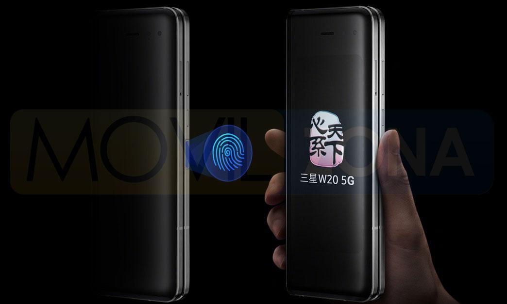 Samsung W20 5G diseño