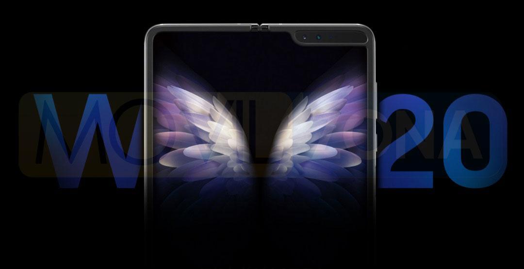 Samsung W20 5G pantalla